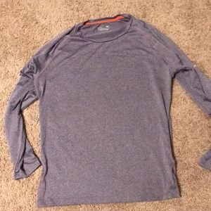 Mizuno dri fit long sleeve running shirt